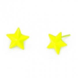 """Oorbellen """"Starstruck"""" Geel"""