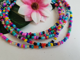 "Choker Ketting ""Happy Colors"""