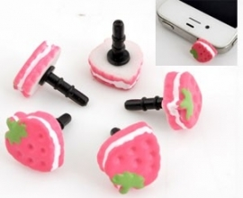 "Anti-Dust Plug ""Pink Cookie"""