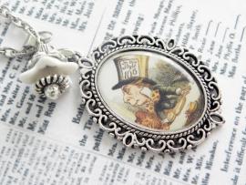 "Alice in Wonderland ketting ""Mad Hatter"""