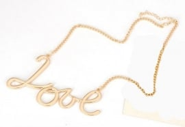 "Statement Ketting ""Big Love"""