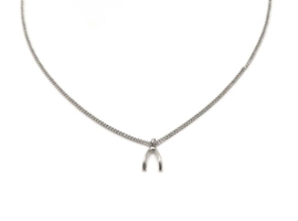 "Subtiele Ketting ""Teeny Tiny Wishbone"""