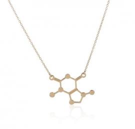 "Molecule Ketting ""Chocolate"""