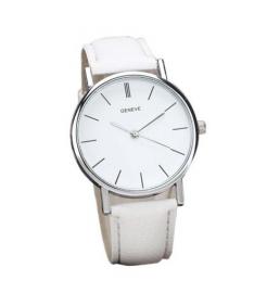 """Horloge """"Minimalist"""" Wit"""