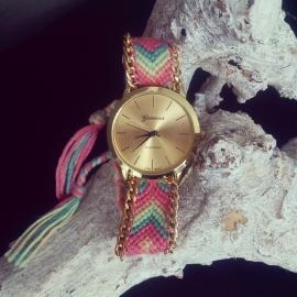 "Horloge ""Festival"" Pastel"