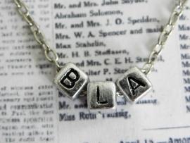 "Ketting ""BLA"""