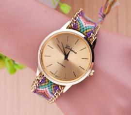 "Horloge ""Festival"" Paars / Oudroze"