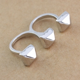 "Two Finger Ring ""Studs"""