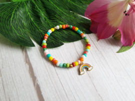 "Kinder Armband ""Rainbow Colours"""