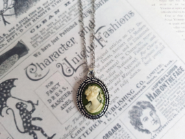 """Camee Ketting """"Those Were The Days"""" Groen"""