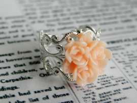 "Ring ""Multiflower Nude Pink"""