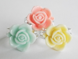 "Ring ""Pastel Summer Flower"""