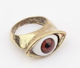 """Ring """"Brown Eyed Jewel"""""""