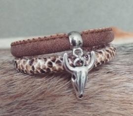 "Armband ""Bull Skull"""