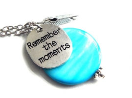 """Ketting """"Remember The Moments"""""""