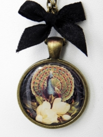 "Ketting ""A Peacock in all his glory"""