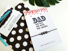 """Vaderdag Cadeautje """"My Dad Is The Best"""" Keuze uit 4 kaartjes"""