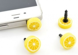"Anti-Dust Plug ""Lemon"""