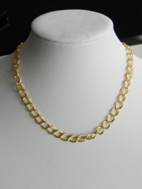 """Ketting / Armband """"Double Golden Chains"""""""
