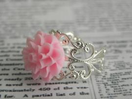 """Ring """"Chrysanthemum Light Pink"""""""