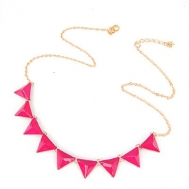 "Ketting ""Pink Statement Spikes"""