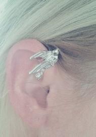 "Ear Cuff ""Birdy"" Zilverkleurig"