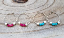 """Oorringen """"Summer Beads"""""""