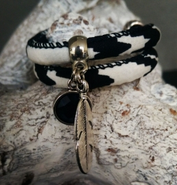 """Armband """"Black & White Night"""""""