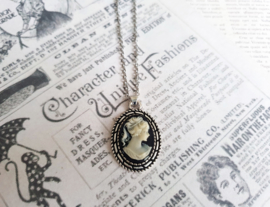 "Camee Ketting ""Those Were The Days"" Zwart"