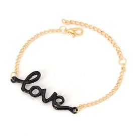 "Love Armband ""Black Love"""