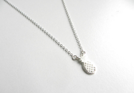 "Ananas Ketting ""Pineapple"" Silver Plated"