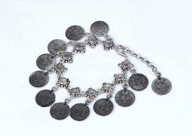 "Enkelbandje ""Bohemian Coins"""