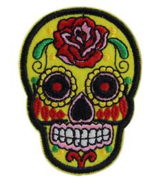 "Doodshoofd Patch ""Yellow Skull"""