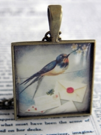 "The Square Bird Collection ""Don`t Swallow The Mail"""