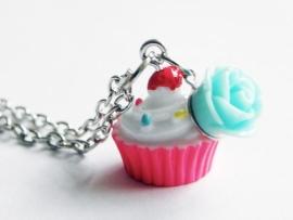 "Cupcake Ketting ""Delicious Cupcake"""