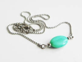 "Ketting ""Natural Amazonite"""