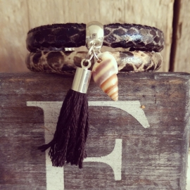 """Ibiza Armband """"Hide In Your Shell"""""""