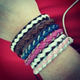"Armbandje ""My Braided Friend"""