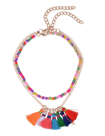 "Ketting Met Kwastjes ""Colour My Love"""