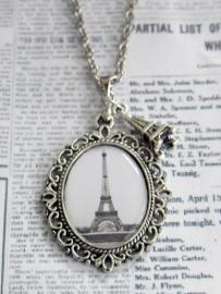 """Ketting """"La Tour Eiffel"""" met Eiffeltoren hanger"""