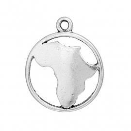 "Landkaart Ketting ""Silhouette Map of Africa"""