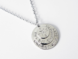 """Kompas Ketting """"Not All Those Who Wander Are Lost"""""""