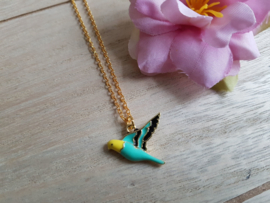 "Vogel Ketting ""Bird Of Paradise"""