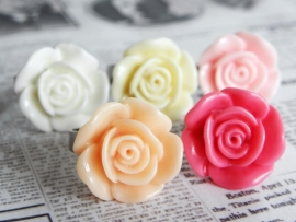 "Ring ""Colorful Flower"""