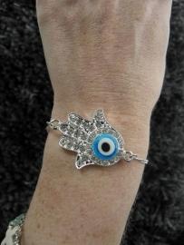 "Armband ""Hamsa Eye"""