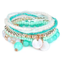 "Armbanden Set ""Turquoise Green"""