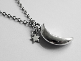 "Ketting ""Moon & Star"""