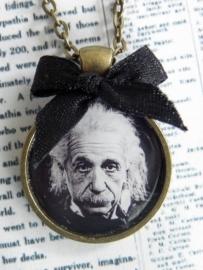 """Ketting """"Einstein"""" Bronskleur"""