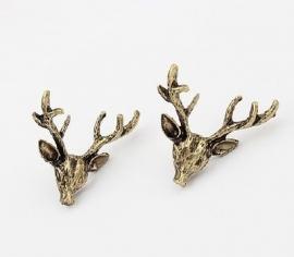 """Hert Oorbellen """"Oh Deer"""""""