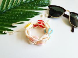 "Schelpen Armband ""Colourful Seashells"""